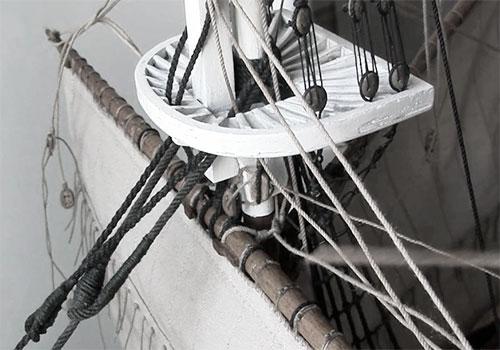 Канаты на корабле