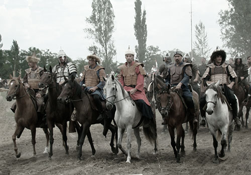 Потомки народов на лошадях