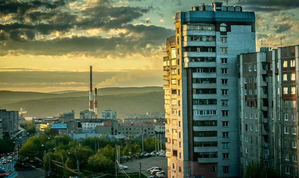 Явление Белой ночи в Мурманске