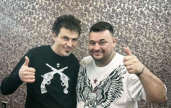 Потехин на заре своей карьеры с Жуковым
