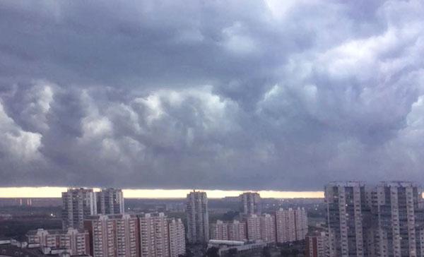 Шторм Летом 2019 в Москве