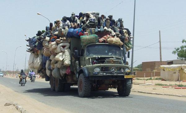 Перегруз в Нигерии