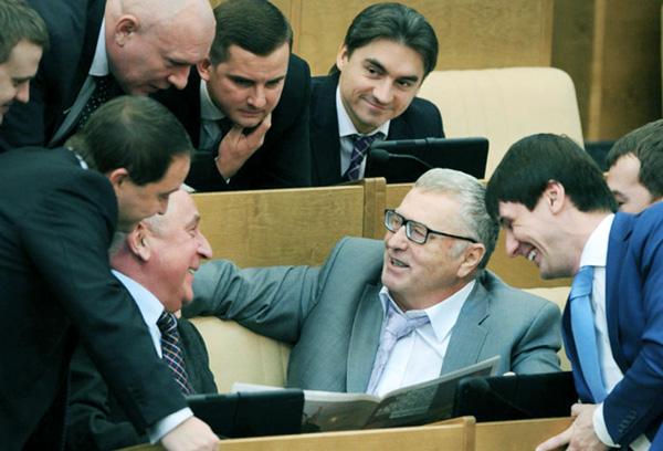 Жириновский как представитель партии