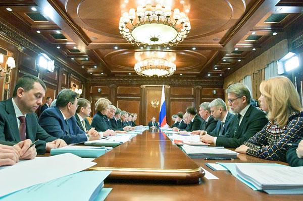 заседание на тему отставки правительства