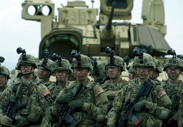Военная сила США
