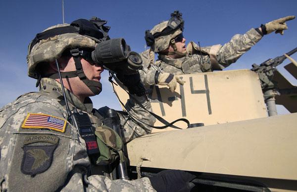 Военные действия Америки