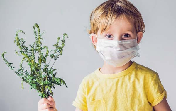 Ребенок защищен от аллергии