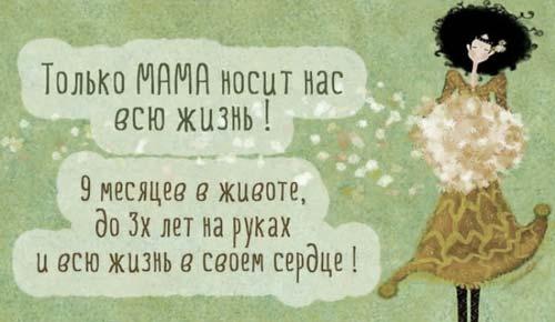 фразы мама носит