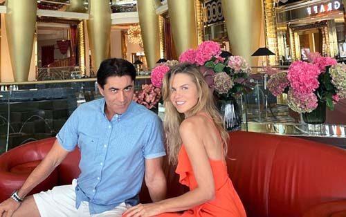 Степан Джигарханян и Ольга Казаченко