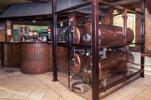 Азотное пиво в баре