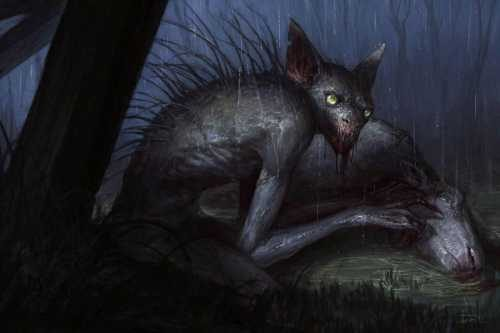 чупакабра питается животными