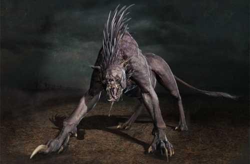 чупакабра - жуткое существо