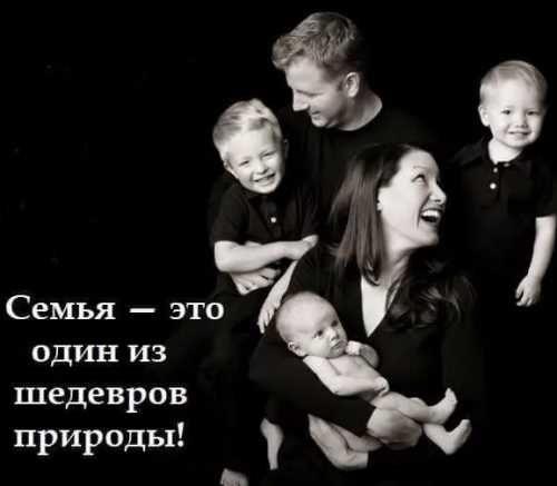 фразы, цитаты, семья