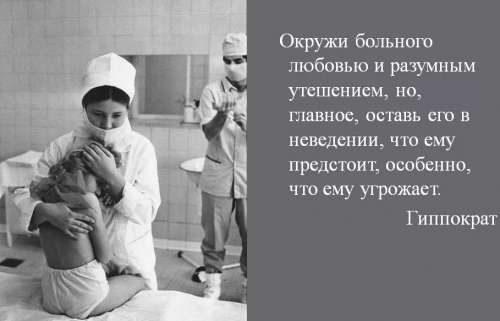 Процедура подготовки к операции