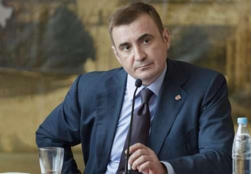 алексей дюмин губернатор тульской области