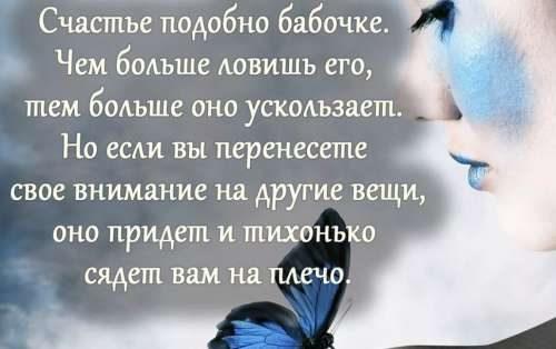Подобно бабочке про счастье