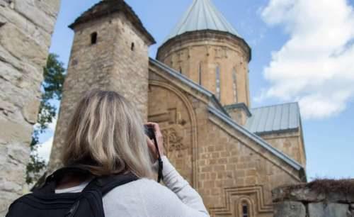 Грузинские посетители фотографы