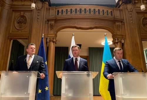Россия и Украина- газ, переговоры