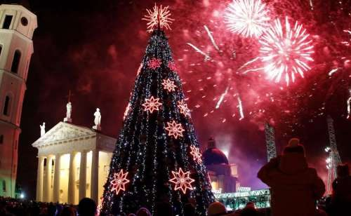 салют, новый год, праздник