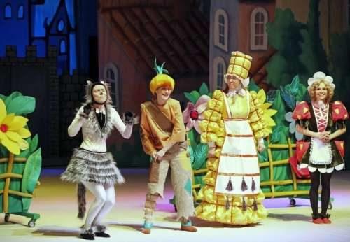 спектакль Чиполлино в Москве