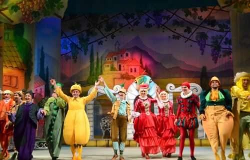 спектакль чиполлино в Театре