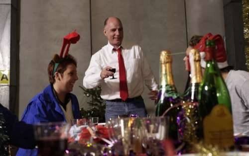 тост новогодний корпоратив - начальник говорит