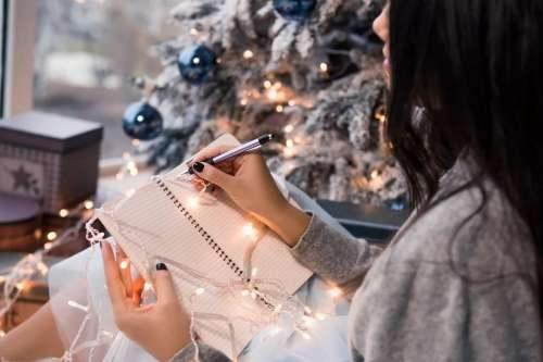 встреча нового года пишут желания