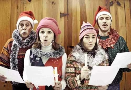 встреча нового года поют песни конкурс