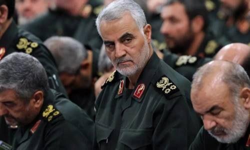 иранский генерал Сулеймани