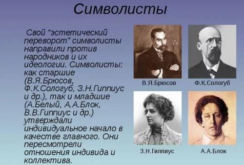 Символисты эпохи