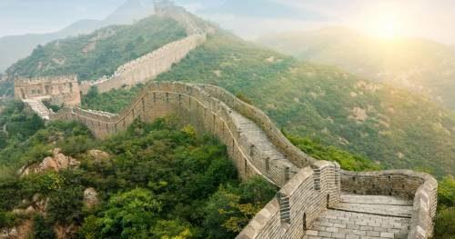 великая китайская стена и ее изображение