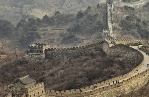 великая китайская стена в наши дни