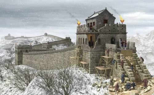 великая китайская стена возведение до Нашей эры