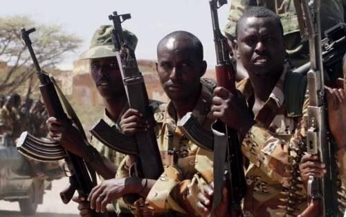 война и боевики в эфиопии