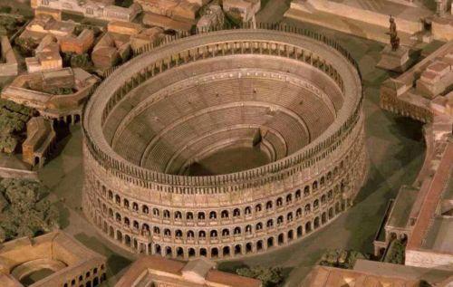 древний рим история колизей