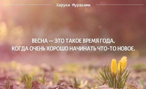 Самые красивые цитаты и статусы о весне | 306x500
