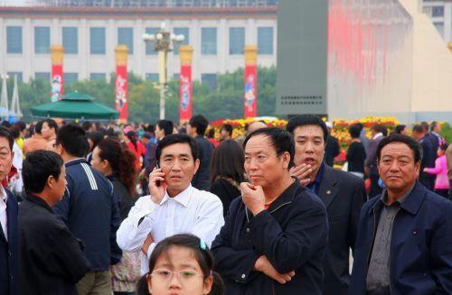 Много народа у Китая