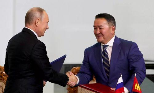 россия монголия отношения
