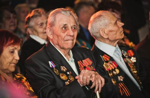 Герои ветераны ВОВ