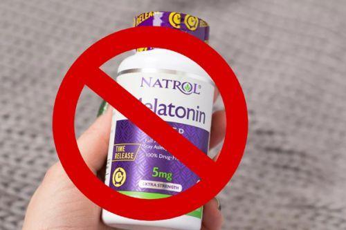 Чтобы хорошо спать   мелатонин
