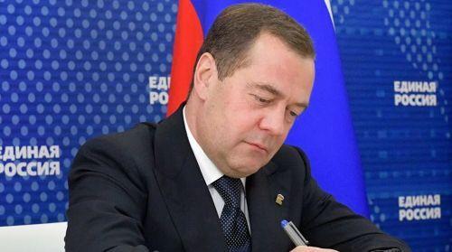 Единоросс со стажем Медведев