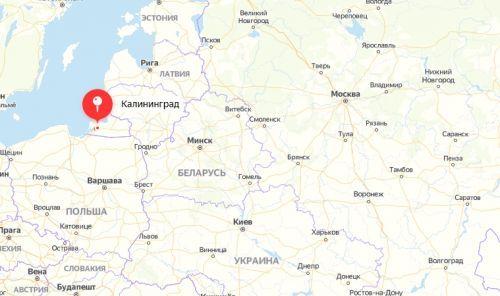 Калининград отдельно от России