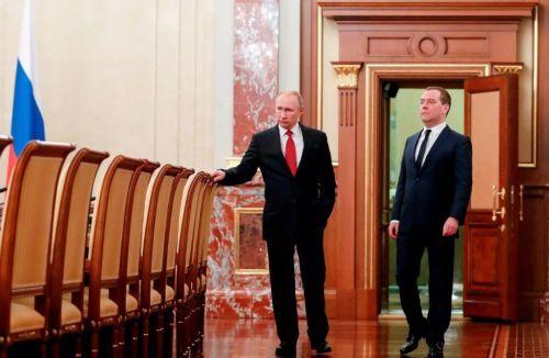 Новый кабинет Медведева