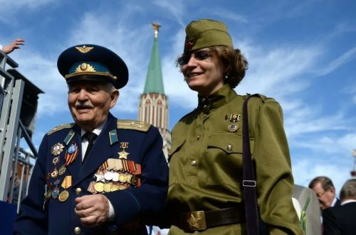 день победы 1945 ветераны