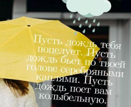фразы про дождь (2)