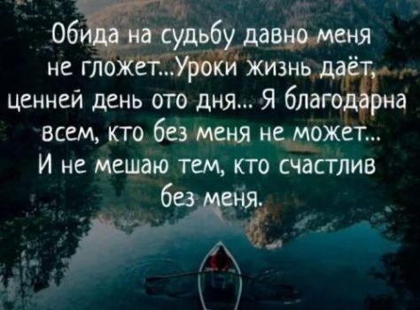 фразы про судьбу (1)