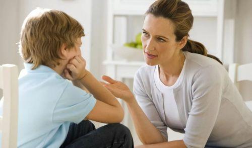 Разговор с матерью по делу