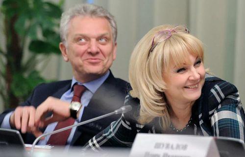 Татьяна Голикова и ее муж Христенко