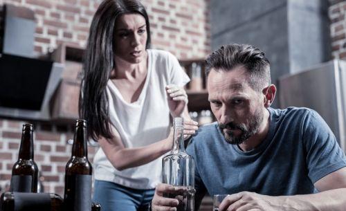 Злой пьющий супруг