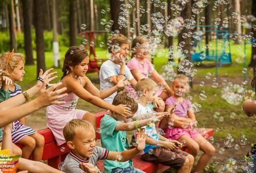 дети в лагере летом фэнтези